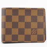 Louis Vuitton N60895 Damier棋盤格紋折疊中短夾 預購