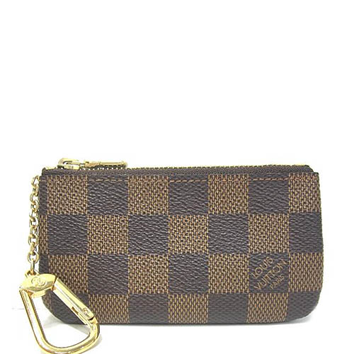 Louis Vuitton LV N62658 棋盤格紋小型方型鑰匙零錢包_預購