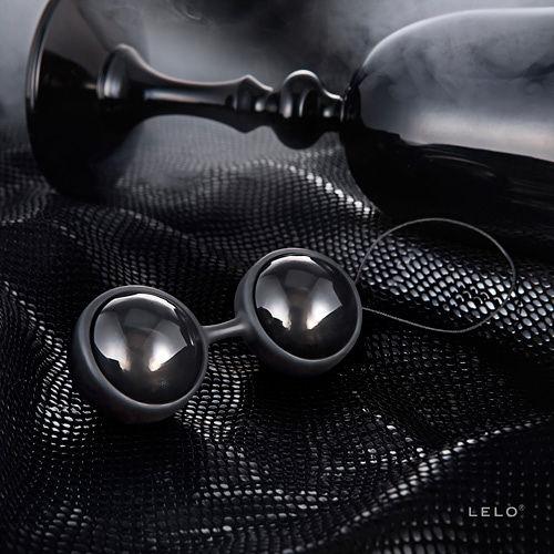 台灣總代理公司貨 瑞典LELO-Luna Beads NOIR 露娜球 黑珍珠