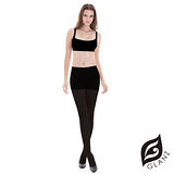 GLANZ 格藍絲 160 丹 束腹提臀美腿全彈性絲襪-經典黑(2入組)