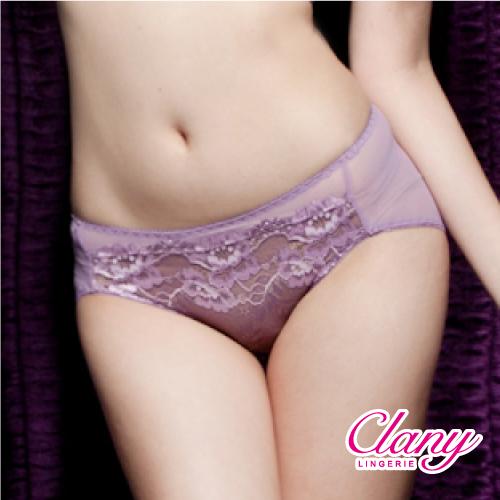 【可蘭霓Clany】蕾絲歐風M-XL內褲 高貴紫 5328-92