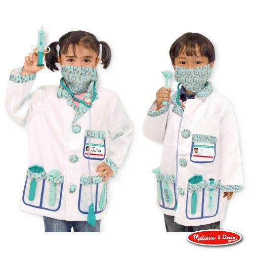 美國瑪莉莎 Melissa & Doug 角色扮演 -【醫生服裝扮遊戲組】玩具