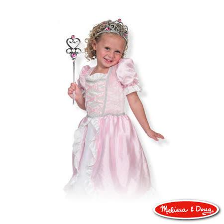 美國瑪莉莎 Melissa & Doug 角色扮演 -【公主服裝扮遊戲組】玩具