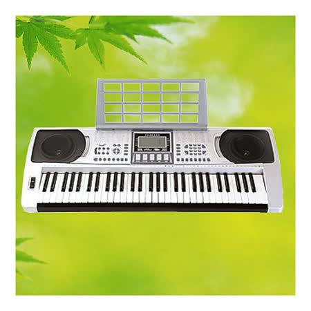 【BOSTON】標準61鍵可攜式電子琴含琴架 公司貨(BSN-250)