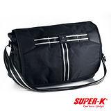 《購犀利》美國品牌【SUPER-K】休閒側背包-SHX21531☆超值有型