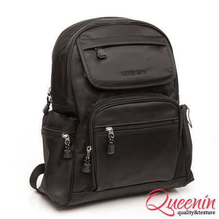 DF Queenin  多收納式質感手工後背包