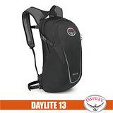 【美國 OSPREY】Daylite 13L 超輕多功能隨身背包/攻頂包.輕便日用隨行包.自行車/單車雙肩包 黑