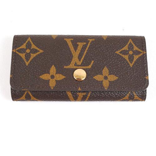 Louis Vuitton LV M62631 Monogram 經典花紋4扣鑰匙包.預購