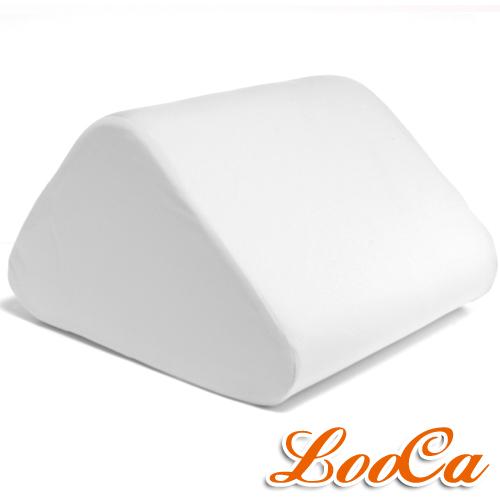 【LooCa】吸濕排汗萬用三角靠墊(灰)1入
