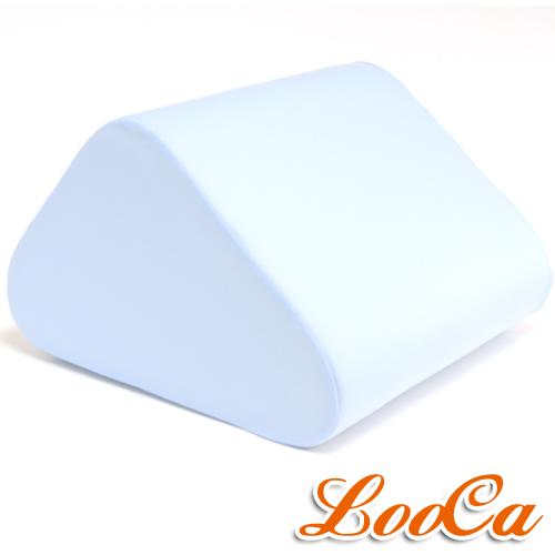~LooCa~吸濕排汗萬用三角靠墊 藍 1入