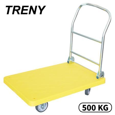 TRENY 5吋PPR輪塑鋼手推車