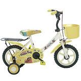 Adagio 12吋酷樂狗輔助輪童車附置物籃-米色