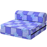 【戀香】單人小沙發床(楓葉藍)