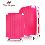 【法國 奧莉薇閣】繽紛系20+24吋二件組彩妝玩色風輕量行李箱