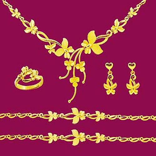 Manstyle「飛上枝頭」黃金套組 (約16.85錢)