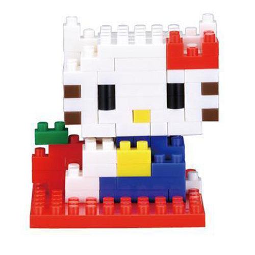 【Nano Block任選館】Hello Kitty系列 - 凱蒂貓  (NBCC-001)
