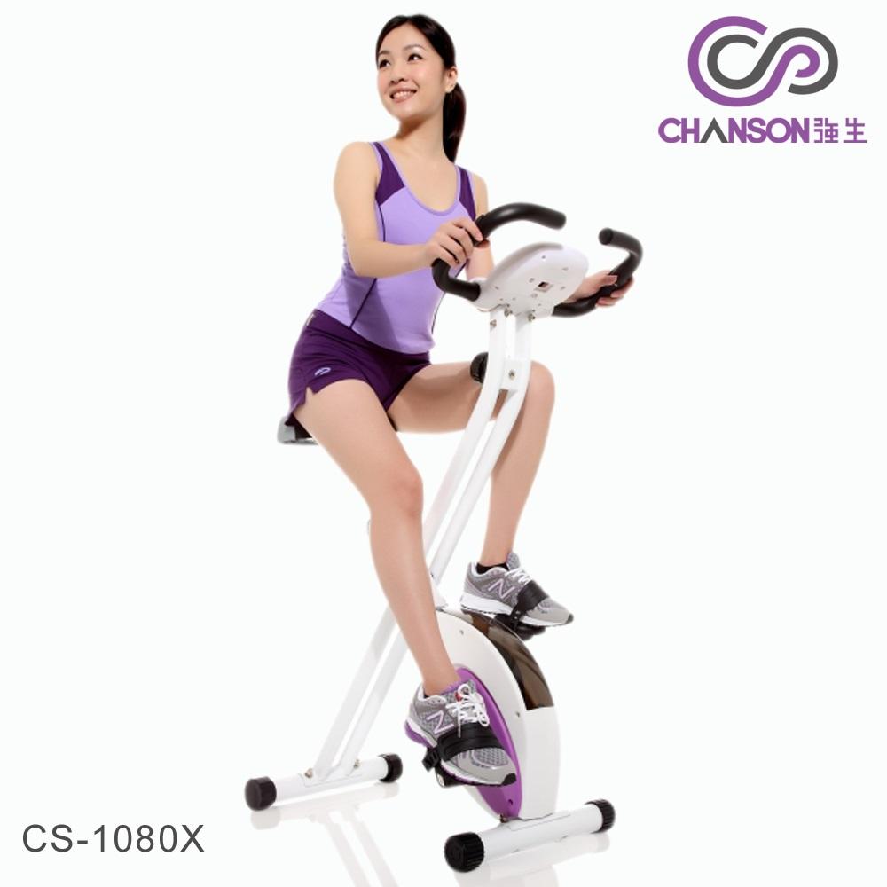 【強生CHANSON】樂活有氧健身車 CS-1080X (DIY組裝)