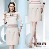 【麥雪爾】都市奢華~歐美風格經典基本款五分短裙