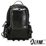 OEM -新製包工藝革命 綠色潮流 大容量後背包 -時尚灰