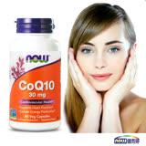 NOW健而婷-精純CoQ10膠囊食品(60顆/瓶)