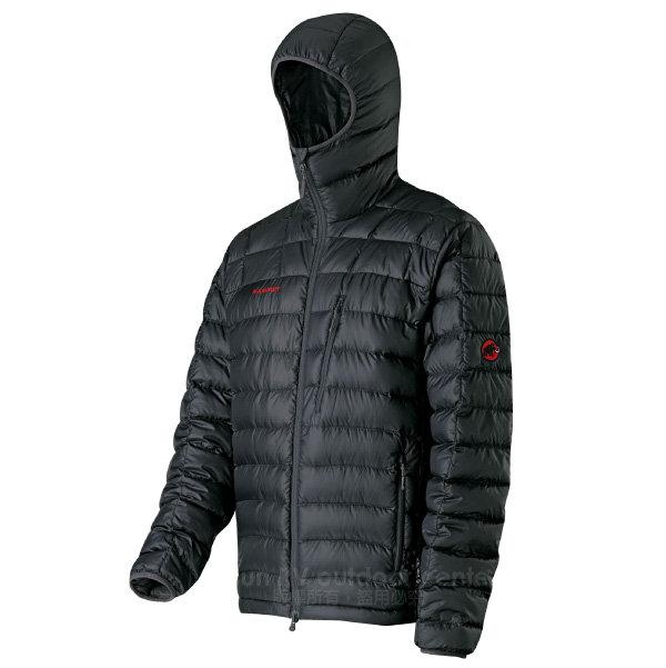 【瑞士 MAMMUT 長毛象】Broad Peak Hoody 750FP 男 防風輕量鵝絨外套.防潑水保暖_1010-10441-0001 黑
