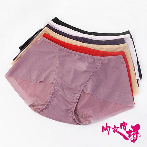 【內衣瞎拼】嫚麗無痕內褲三件組 M-XL (隨機取色)