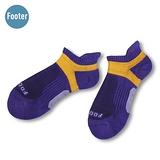 (任選)Footer健康除臭襪 FUNCTION女款輕壓力足弓除臭襪(T92M-紫)