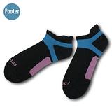 (任選)Footer健康除臭襪 FUNCTION女款輕壓力足弓除臭襪(T92M-黑)
