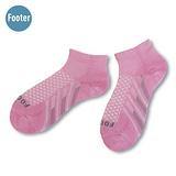 (任選)Footer健康除臭襪 FUNCTION女款輕壓力機能除臭襪(T94-粉紅)