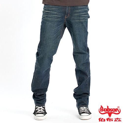 BOBSON 男款伸縮直筒褲(7005-53)