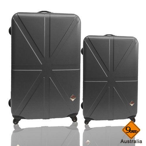 Gate9 米字英倫系列28+20吋輕硬殼行李箱二件組