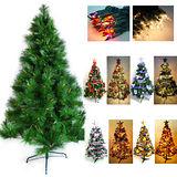 台灣製15尺/ 15呎(450cm)特級松針葉聖誕樹 (+飾品組+100燈樹燈12串)