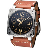 Bell & Ross 機艙儀表板概念機械錶 BR0392-ST-G-HE SWA
