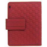GUCCI 雙G LOGO壓紋iPad 翻蓋保護皮套(紅)