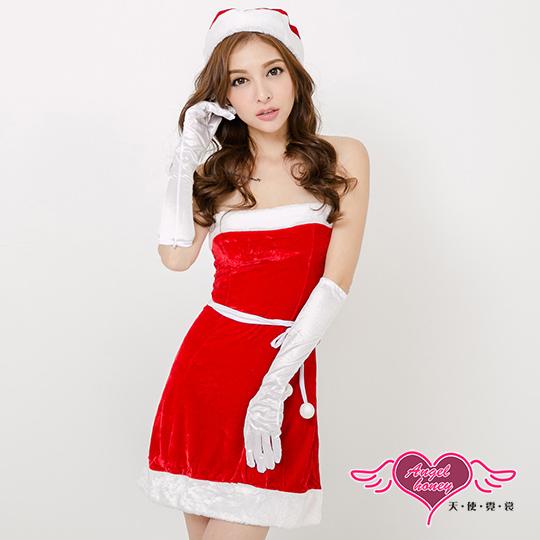 【角色扮演館-天使霓裳】歡樂聖誕派對 經典俏皮洋裝聖誕服