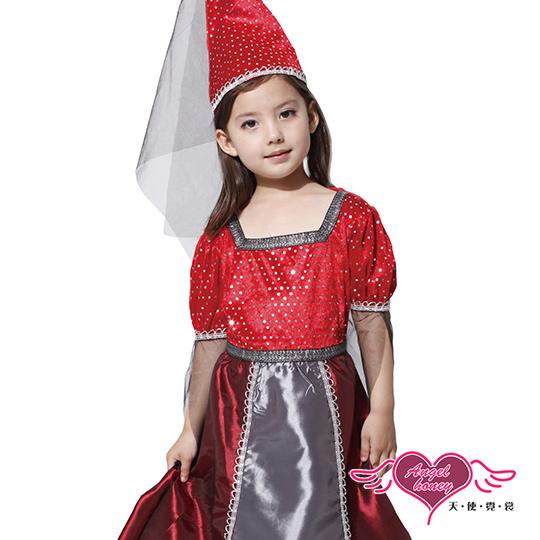 【小童角色館-天使霓裳】俏麗小公主 萬聖節童裝系列(紅)