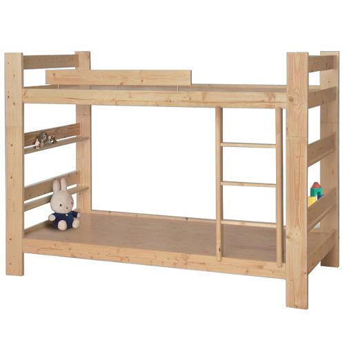 堅固耐用 鄉村實木雙層床