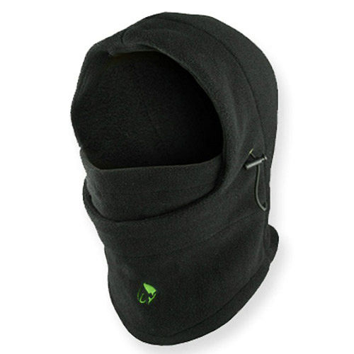 PUSH! 自行車用品 6合一保暖多功能 防寒帽 騎士帽 蒙面帽 CS面罩 圍脖 飛虎帽