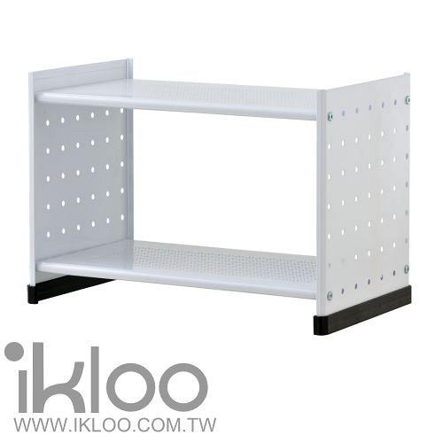 N 整理收納 IKLOO貴族風組合式書架(白)OA125-1入裝-9712 收納書架用品