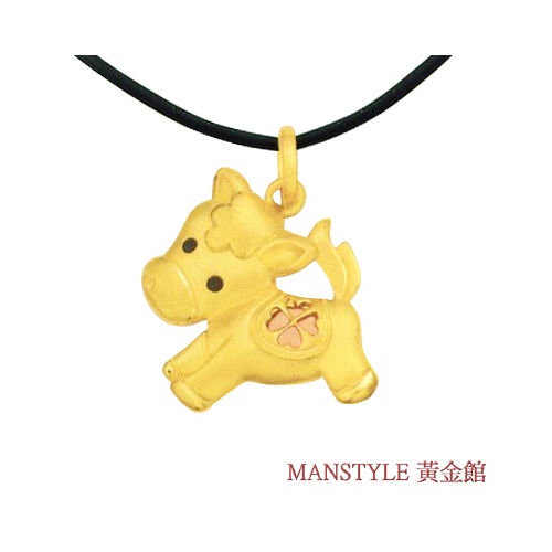 MANSTYLE 瑪莉黃金墜 (約0.72錢)