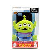 Disney.Pixar iPhone 5S/5【三眼怪寶寶】旋轉活動式手機殼
