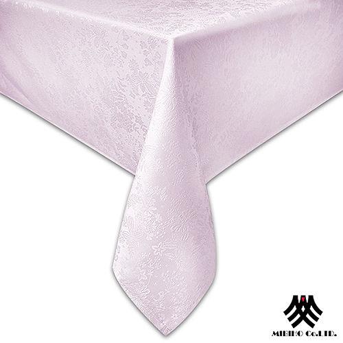 《M.B.H─群花之海》緹花防潑水桌巾(粉紅)(140x180cm)