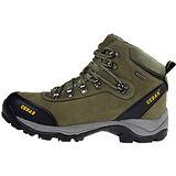 雪松RAN(CEDAR)款100軍綠男女鞋情侶鞋專櫃正品防水防滑厚真牛皮戶外鞋露營鞋徒步鞋休閒鞋