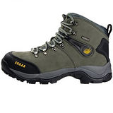 雪松RAN(CEDAR)款071灰色男女鞋情侶鞋專櫃正品防水防滑厚真牛皮戶外鞋露營鞋徒步鞋休閒鞋