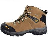 雪松RAN(CEDAR)款071棕色男女鞋情侶鞋專櫃正品防水防滑厚真牛皮戶外鞋露營鞋徒步鞋休閒鞋