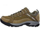 雪松RAN(CEDAR)款306棕色男女鞋情侶鞋專櫃正品防水防滑厚真牛皮戶外鞋露營鞋徒步鞋休閒鞋
