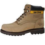 雪松RAN(CEDAR)款800118卡其色男女鞋情侶鞋專櫃正品防水防滑厚真牛皮戶外鞋露營鞋徒步鞋休閒鞋