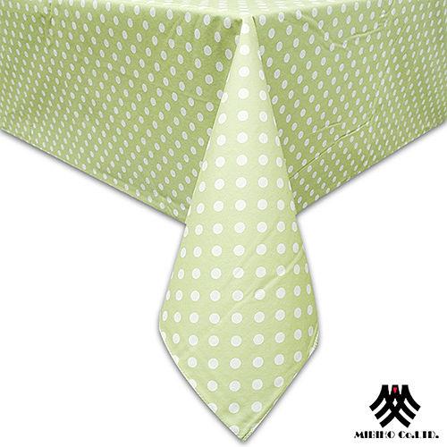 《M.B.H─坎蒂糖果》PVC防水桌巾(綠)(132x229cm)