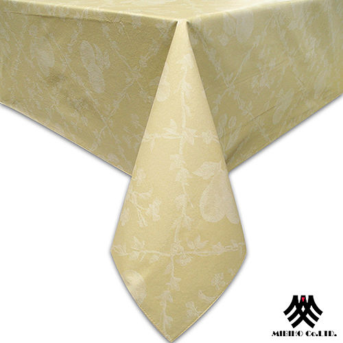 《M.B.H─水果花園》PVC防水桌巾(黃)(132x229cm)