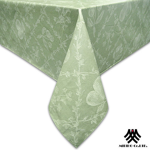 《M.B.H─水果花園》PVC防水桌巾(綠)(132x132cm)